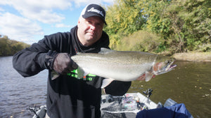 Why a small hook WINS for Great Lakes Steelhead by Roger Hinchcliff