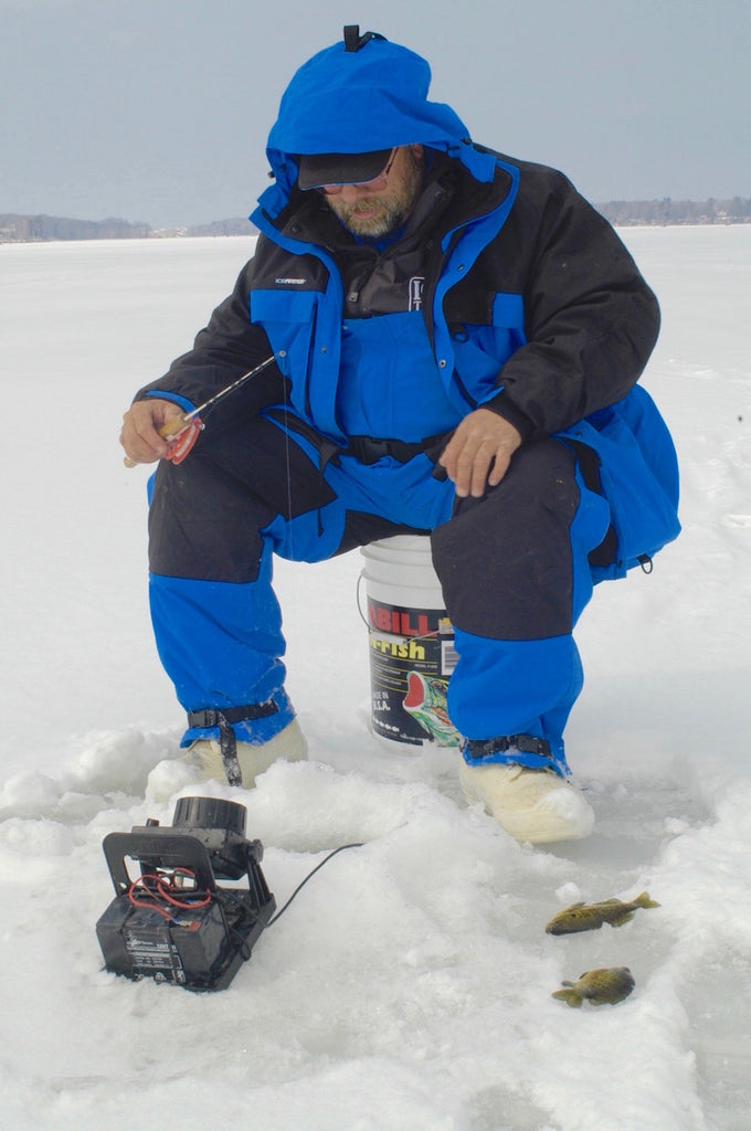 fishing panfish ice fish