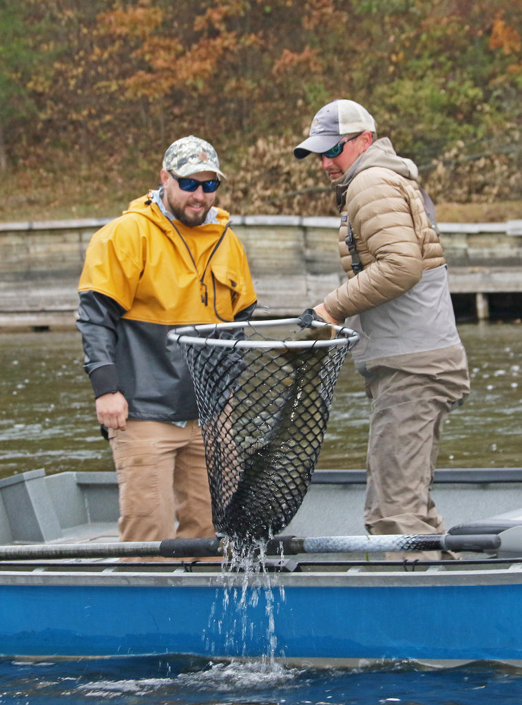 Salmon And Steel On Michigan S Muskegon By W H Chip Gross Great Lakes Angler