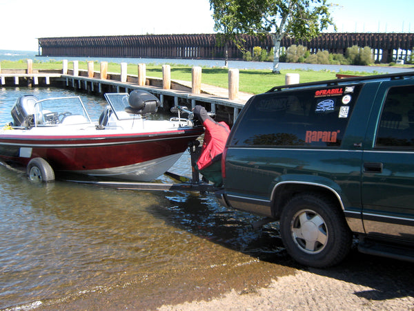 boat trailer fishing