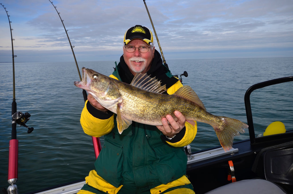 fishing 411 tv great lakes walleye