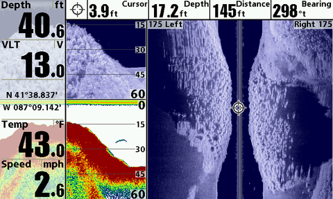 40 foot depth finder