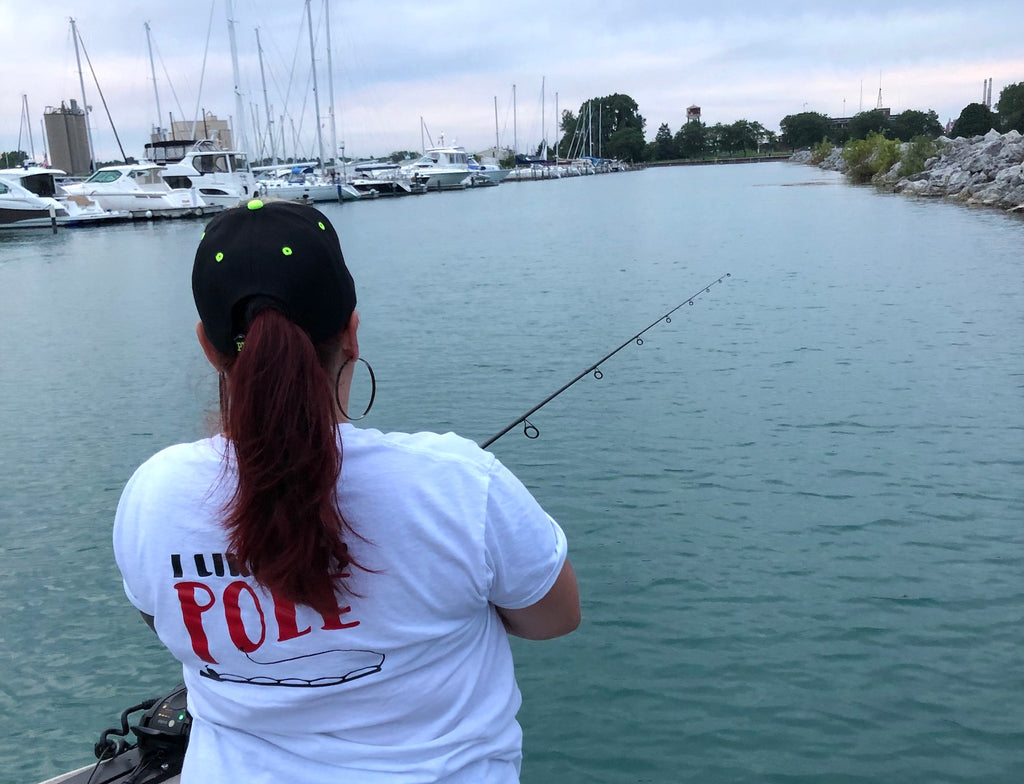 fishing with your spouse wife girlfriend