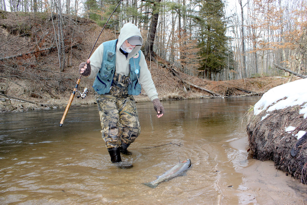 winter steelhead fishing great lakes