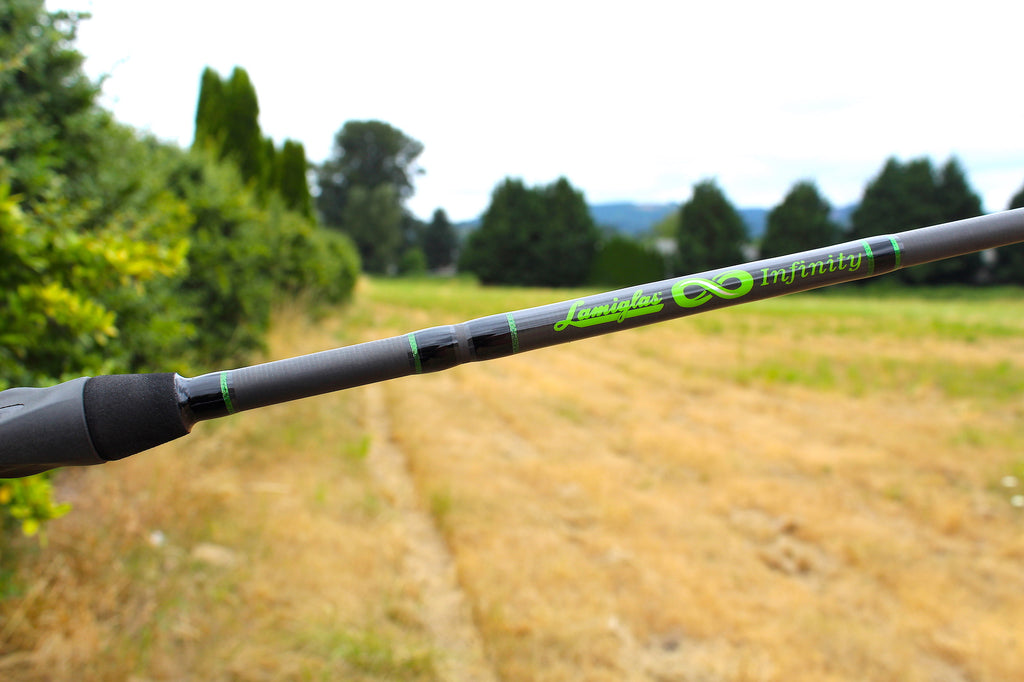 lamiglas spinsation fishing rod infinity spinners