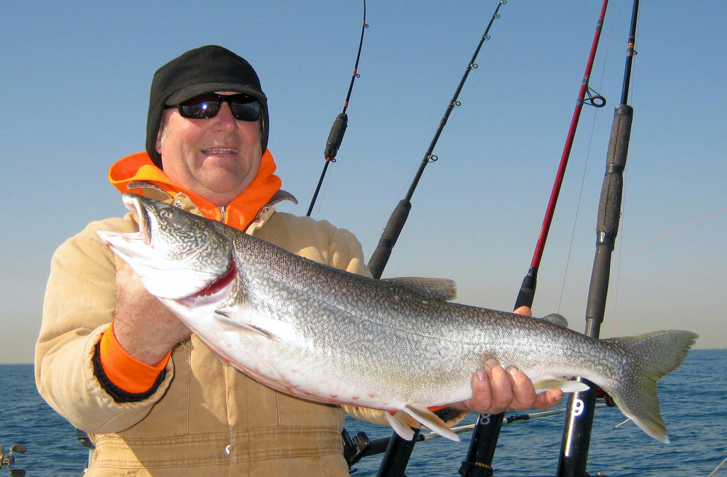 Since I don't often catch lake trout on plugs, you can bet a snap swivel was a part of this catch.