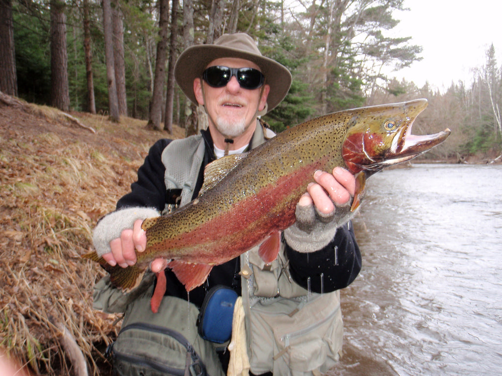 brule river wisconsin steelhead salmon trout superior lake great lakes