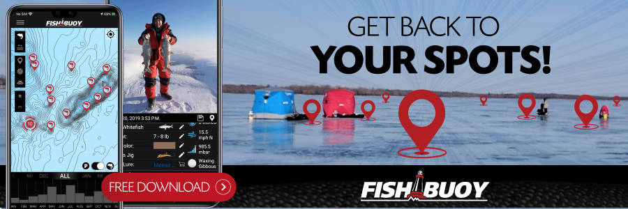 fishbouy app ice fishing