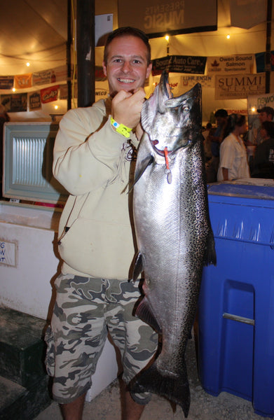 goodings lake huron chinook salmon