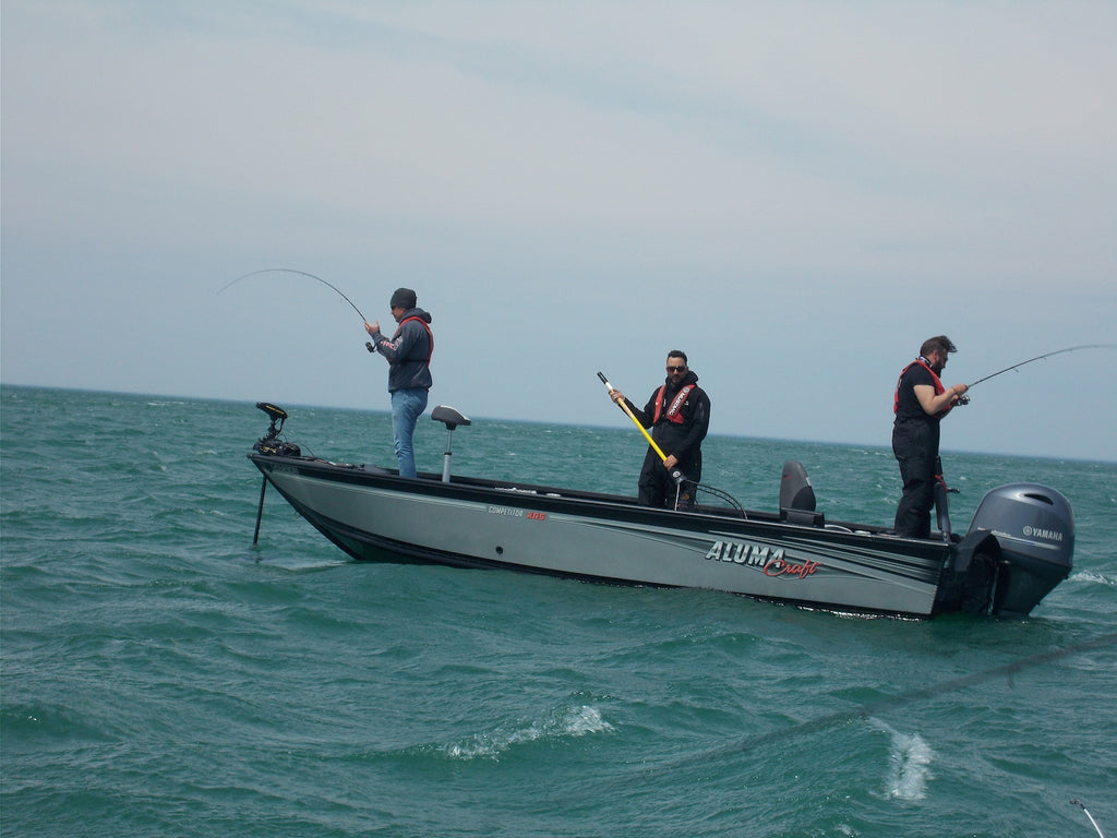 boat fishing great lakes