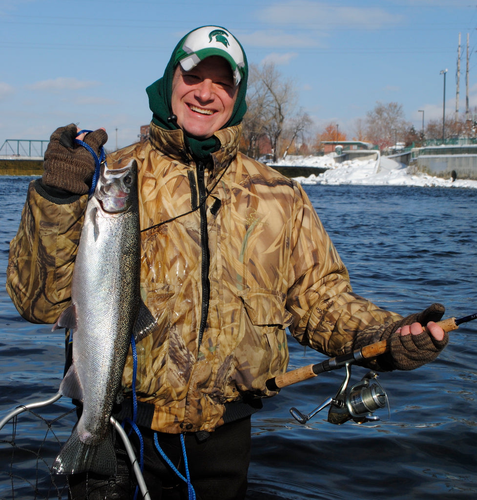 steelhead grand river michigan