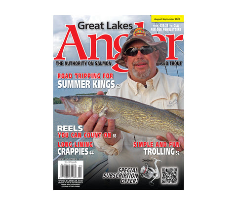 Great Lakes Angler Subscription | Ships FREE