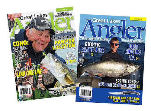 1 year. Great Lakes Angler Subscription | Ships FREE