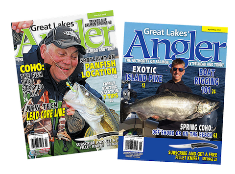 1 yr. Great Lakes Angler Subscription Booster+ | Postage Already Paid