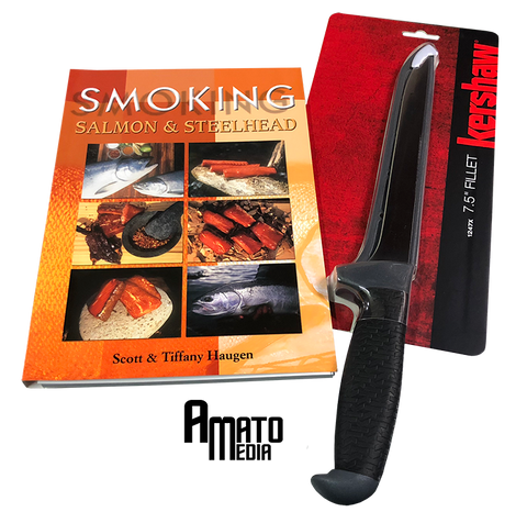 "Buy Kershaw Fillet Knife Get ""Smoking Salmon & Steelhead Book"" FREE"