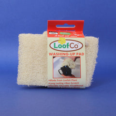 loofah washing-up pad