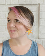 Load and play video in Gallery viewer, Sea-ing Stars 3D Printed Earrings