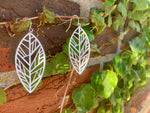 Load image into Gallery viewer, Unbe-leaf-able 3D Printed Earrings