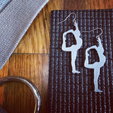 Move your Asana 3D Printed Earrings