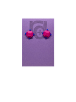 Load image into Gallery viewer, Rock Candy 3D Printed Earrings