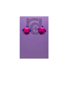 Rock Candy 3D Printed Earrings