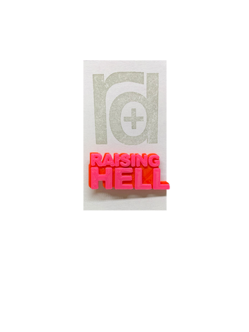To Do List 3D Printed Pin