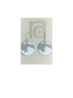 Load image into Gallery viewer, Dark Side of The Moon 3D Printed Earrings