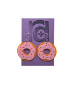 Load image into Gallery viewer, Donut You Want Them? 3D Printed Earrings
