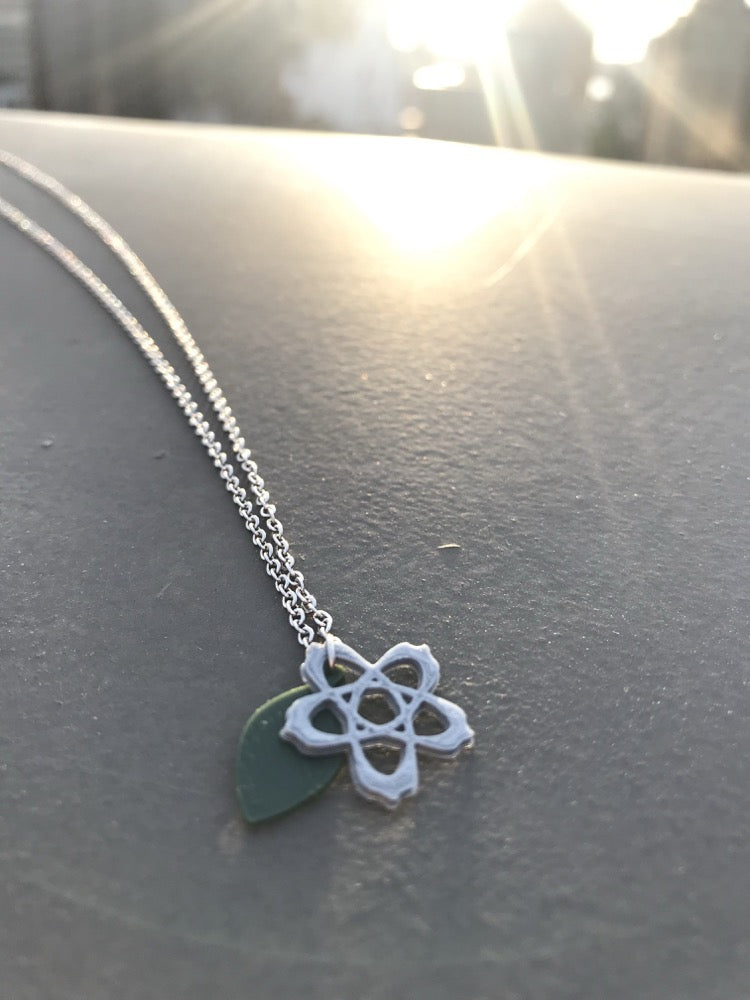 Knot Again! Leaf Me Alone! 3D Printed Necklace