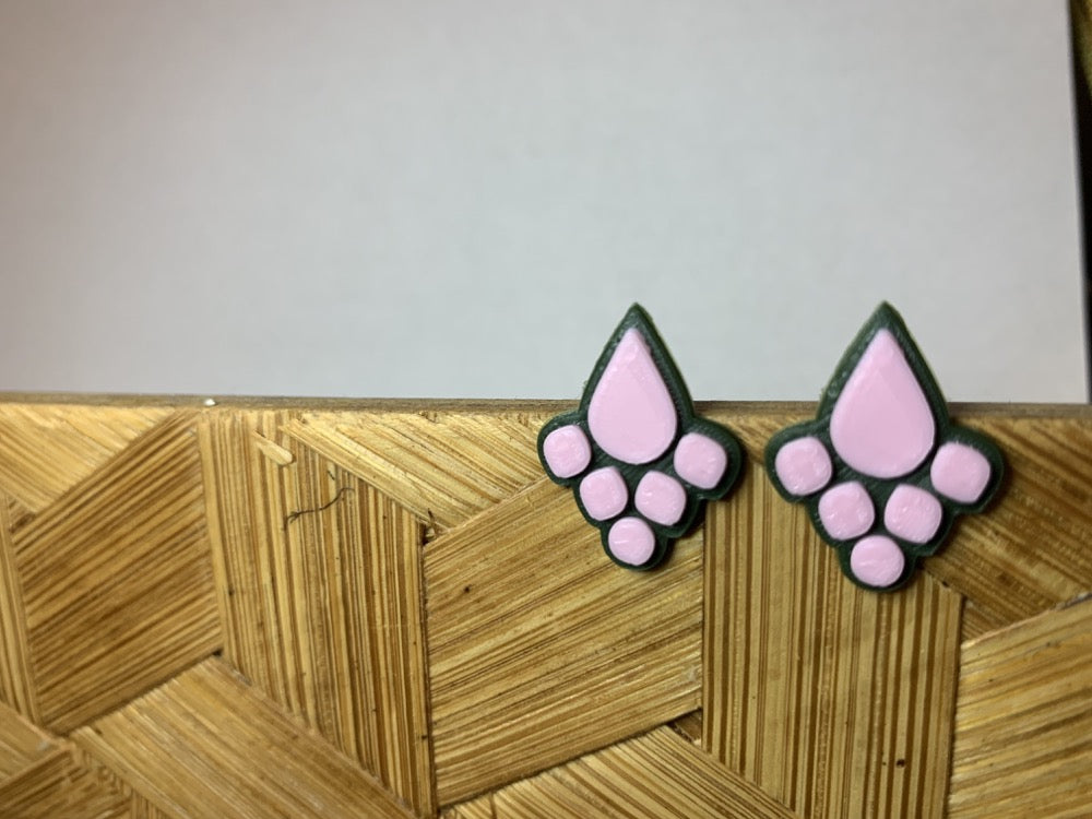 Jewel Intentions 3D Printed Earrings