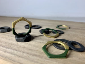Get the Hex Out 3D Printed Rings