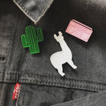 Load image into Gallery viewer, No Prob-Llama 3D Printed Pin