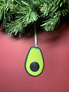 Guacin' Around the Christmas Tree 3D Printed Ornament