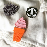 A Midsummer's Ice Cream 3D Printed Pin