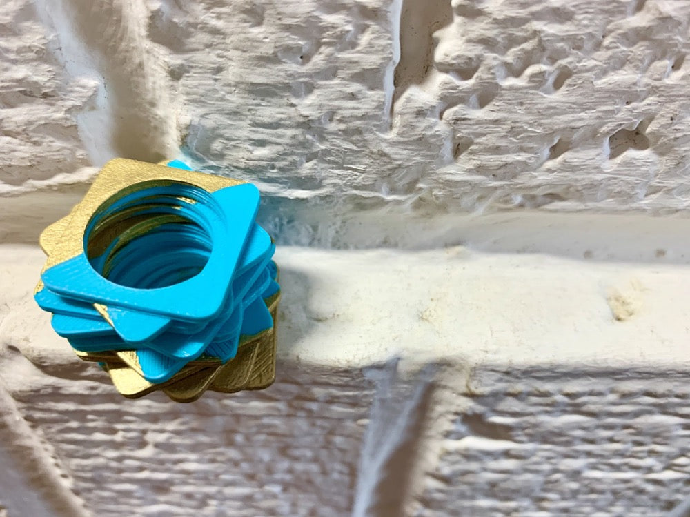 Pointless 3D Printed Rings