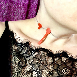 Modern Art-ery 3D Printed Necklace