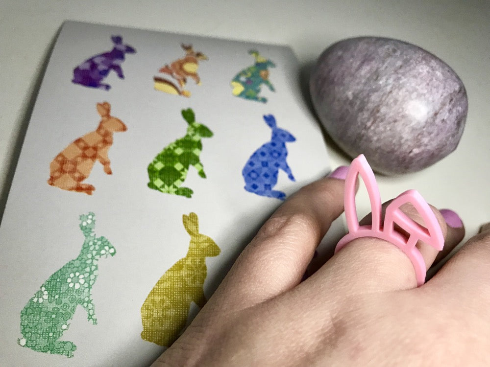Earresistible 3D Printed Rings