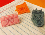 Load image into Gallery viewer, Rock My World 3D Printed Pin
