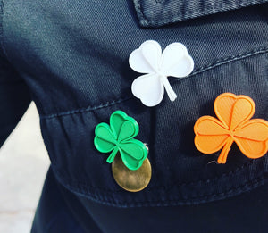 My Life Is Clover 3D Printed Pin
