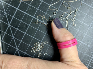Jump Through Hoops 3D Printed Ring for Jewelry Making