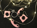Off The Hook 3D Printed Earrings