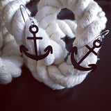 Anchors Away 3D Printed Earrings