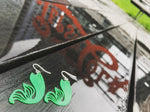 Load image into Gallery viewer, Making Waves 3D Printed Earrings