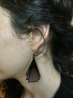 Load image into Gallery viewer, Drop it Like F. Scott 3D Printed Earrings