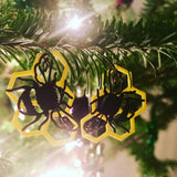 We Bee-long Together 3D Printed Earrings