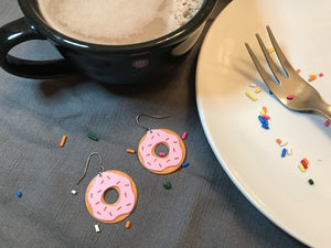 Donut You Want Them? 3D Printed Earrings