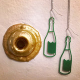 Sip, Sip, Hooray!! 3D Printed Earrings