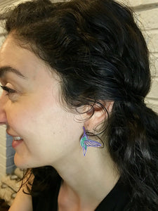 Name That Tune 3D Printed Earrings