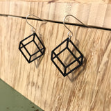 Think Outside 3D Printed Earrings