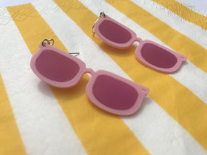 Future's So Bright 3D Printed Earrings
